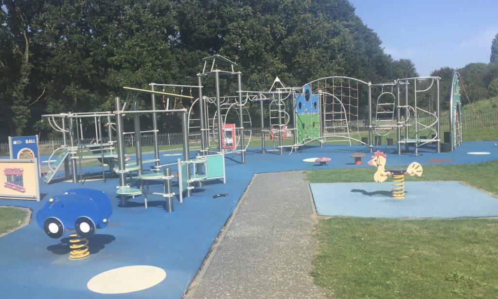 The Older children's playground at Chelmer Park