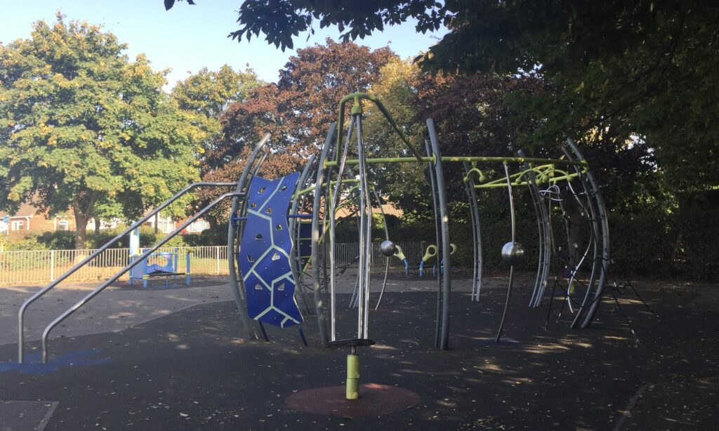 The Play Frame at Coronation Park Chelmsford
