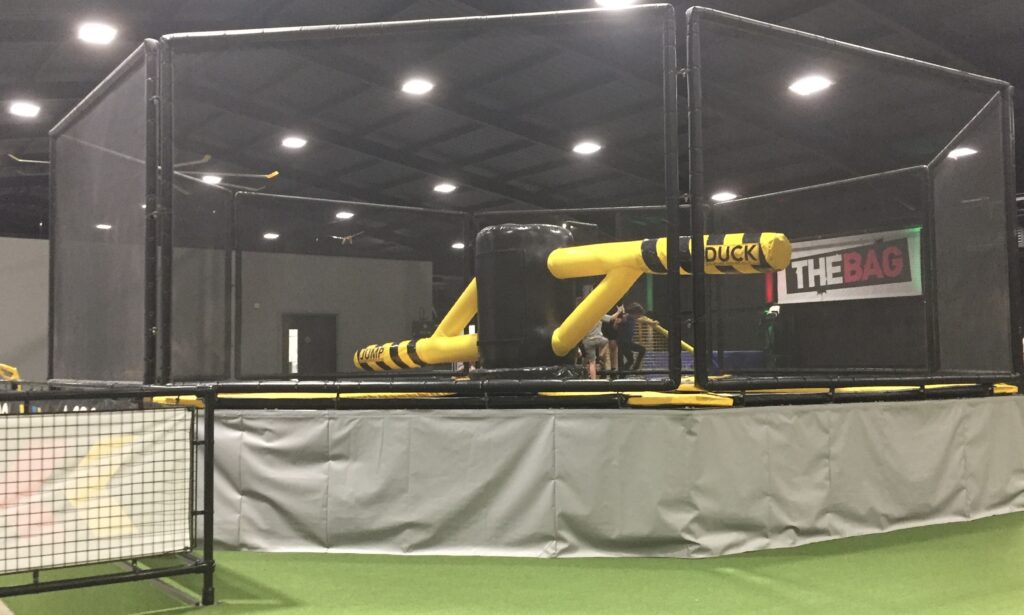 The Spinner at Jump Street trampoline park Chelmsford