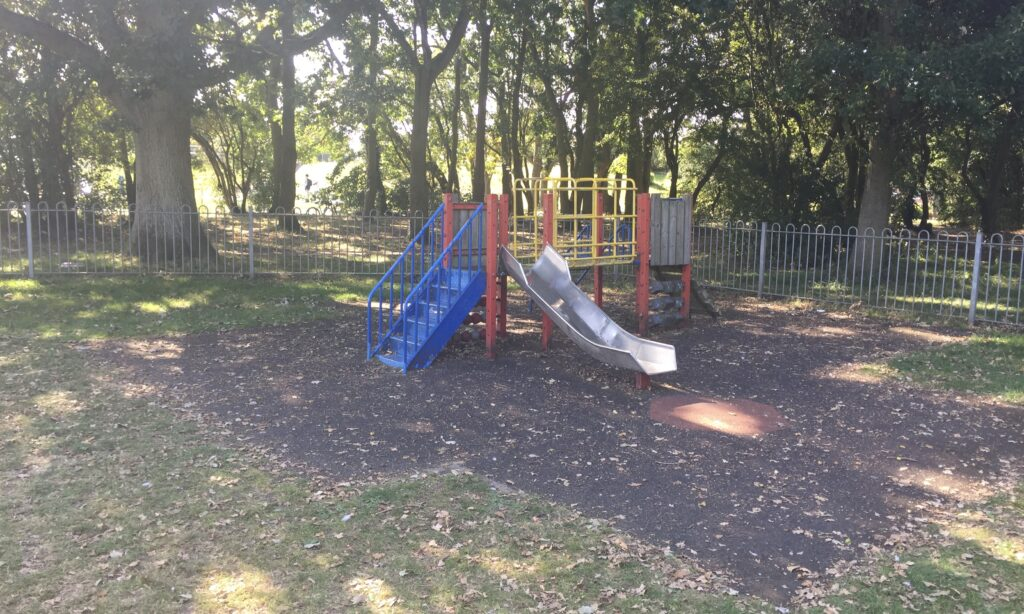The toddler playground at Chelmer Park