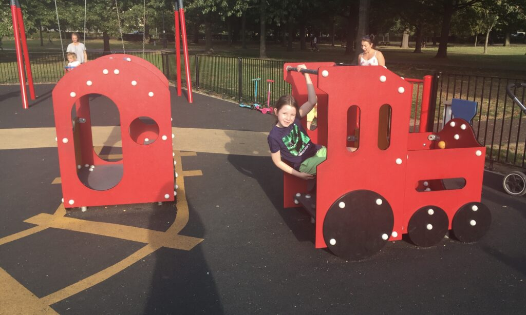 The toddler train