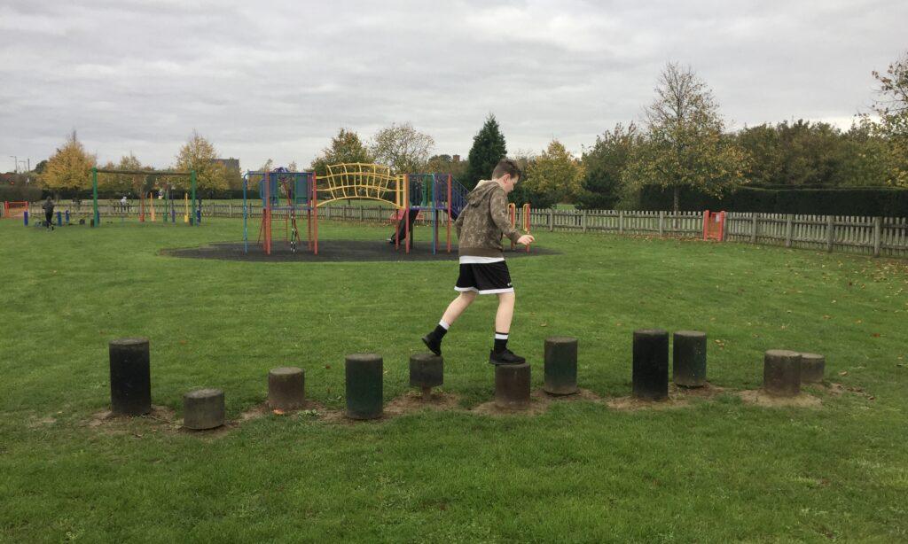 Balancing posts at Boleyn gardens Chelmsford