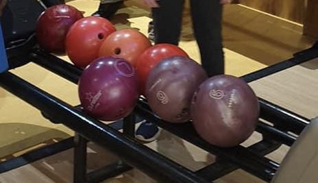 Bowling balls at City Bowl Chelmsford