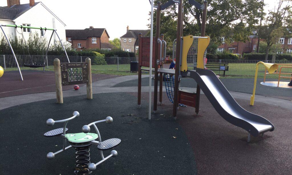 Lionmede Park toddler climbing frame