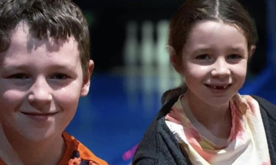 My children at city bowl Chelmsford