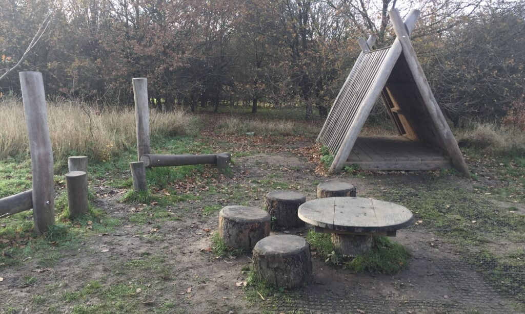 The role play area at waterside park hanningfield reservoir